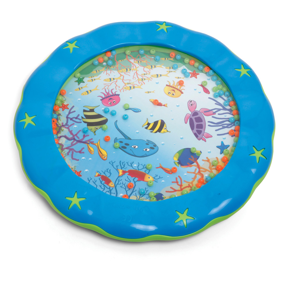 blue toddler wave drum