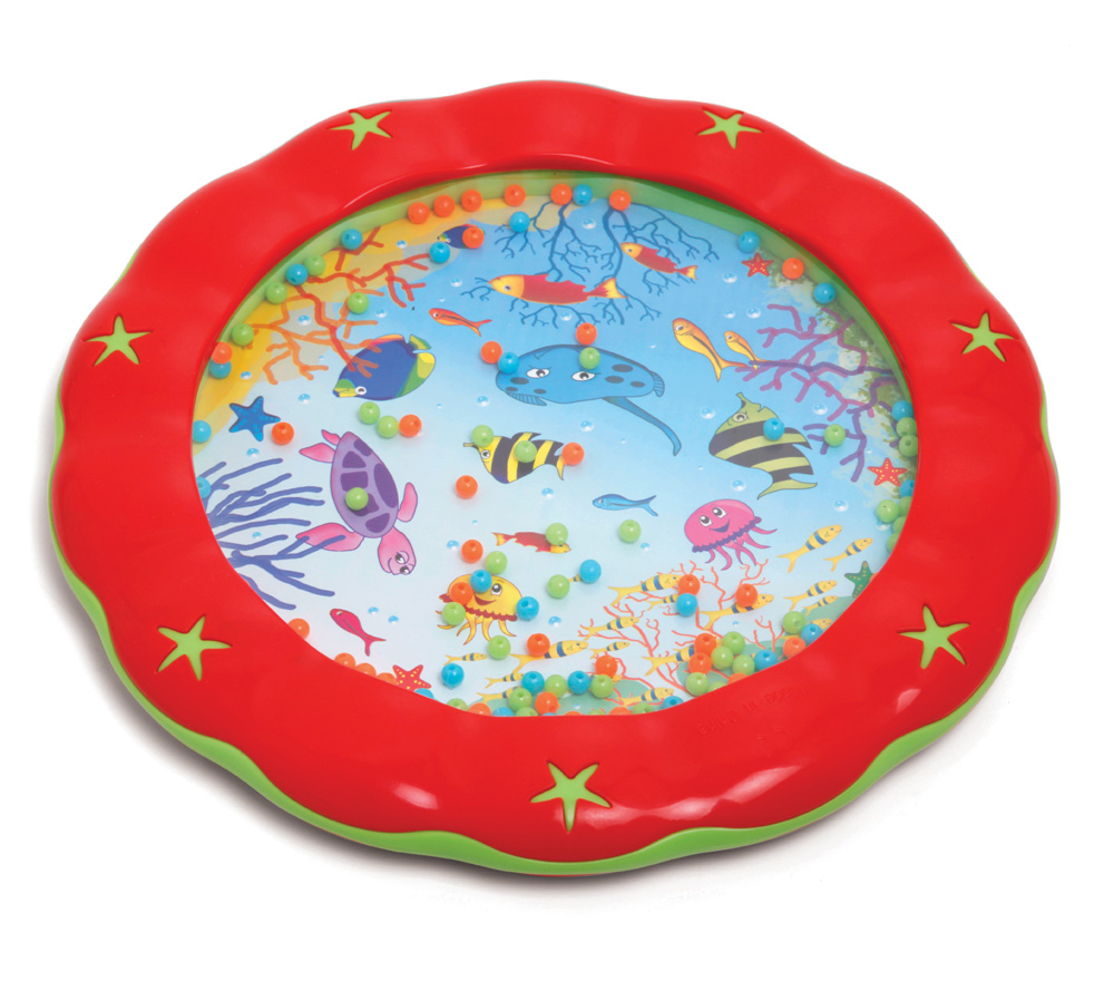 red toddler wave drum