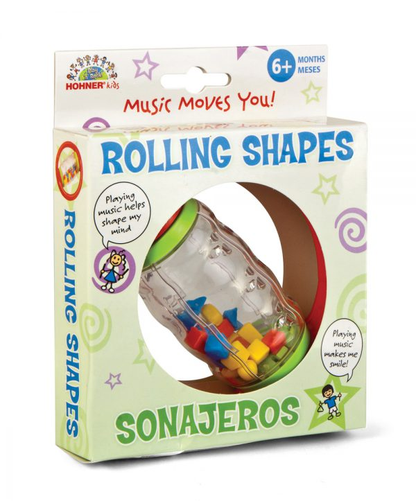 rolling shapes bead rattle