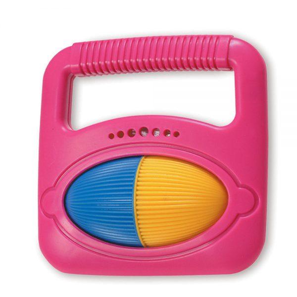 pink toddler music band