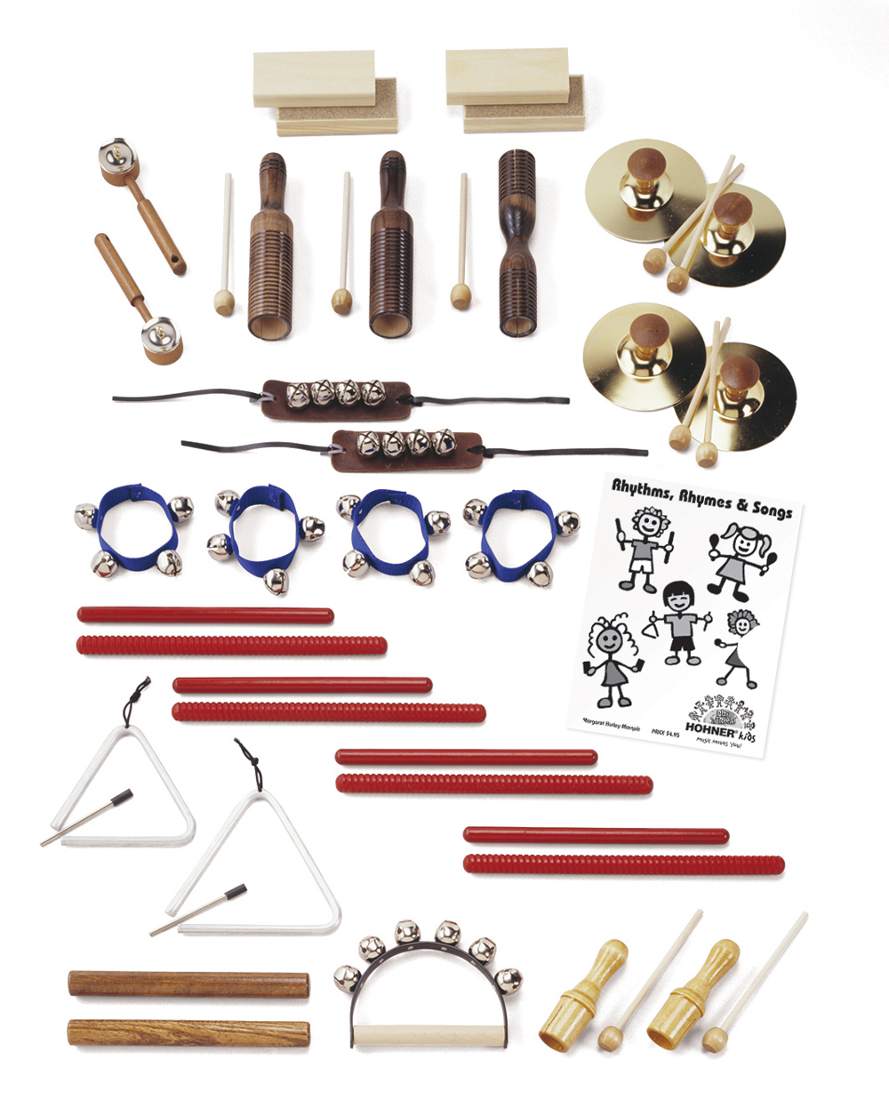 25 Player Rhythm Instrument Set