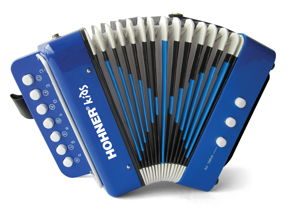 Toy Accordion – Blue