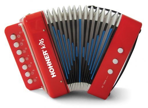Toy Accordion – Red